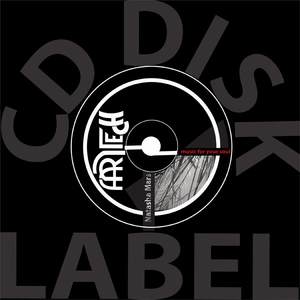 CD Label Right sight  designed by Ganna Sheyko / Anna Art Design