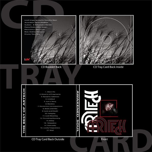 CD Tray Card designed by Ganna Sheyko / Anna Art Design