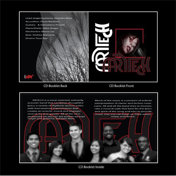 CD Booklet designed by Ganna Sheyko / Anna Art Design