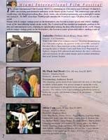FilmFestival brochure designed by Ganna Sheyko