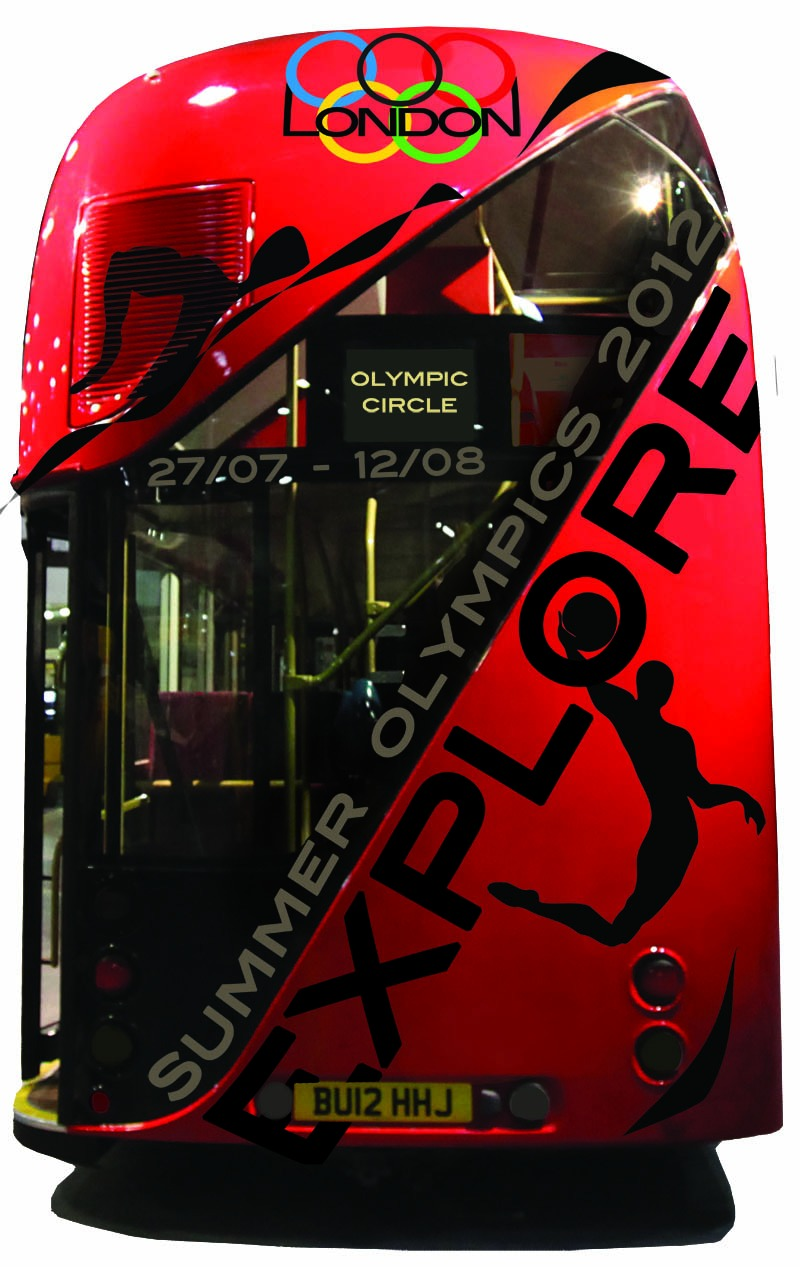 bus Olympic by Ganna Sheyko