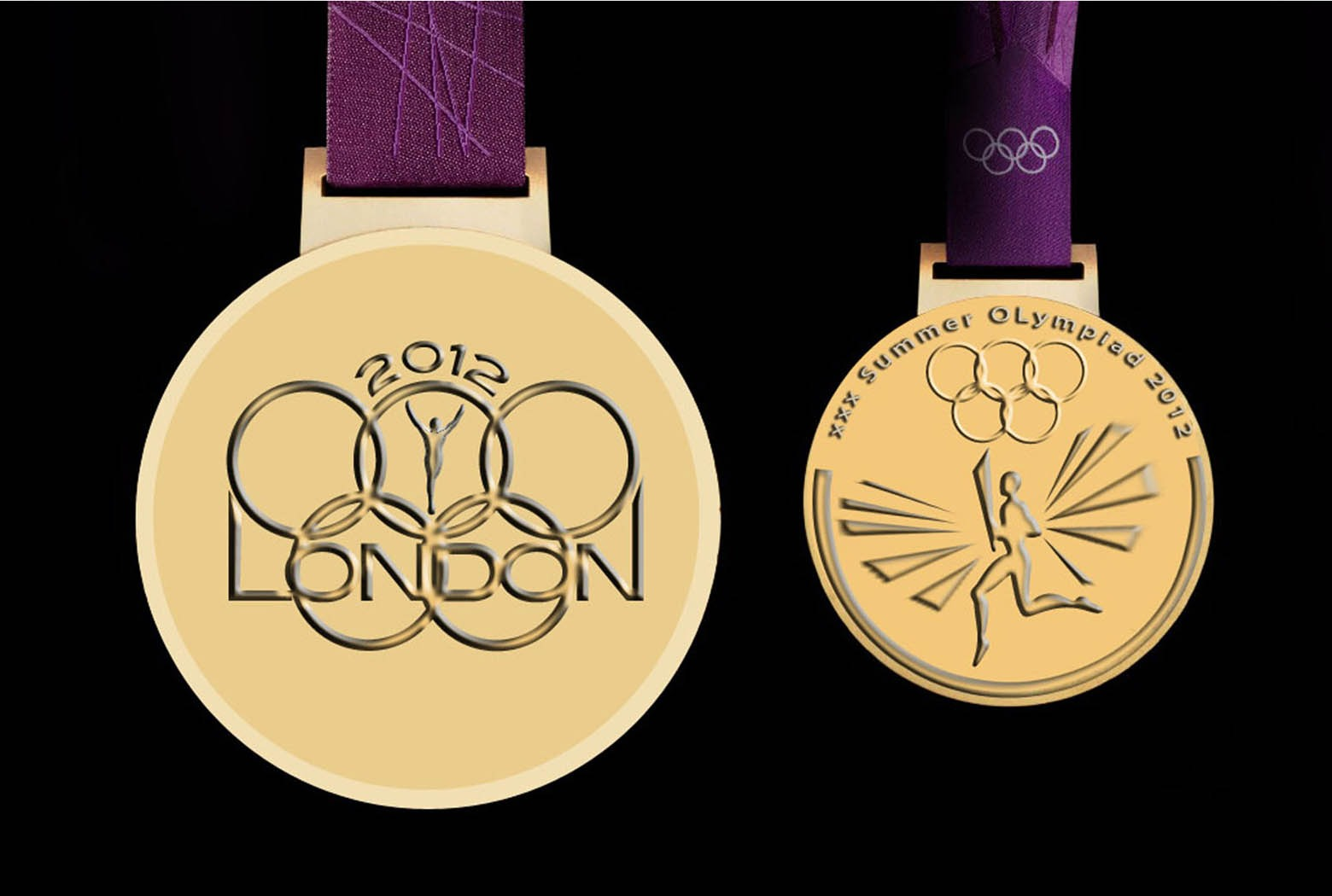 medal Olympic London Olympic by Ganna Sheyko