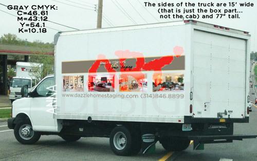 Wrap truck