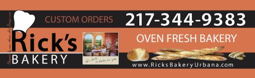 Rick's Bakery Urbana Il - promotional by Ganna Sheyko