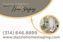 Business Card Dazzle Home Staging by Ganna Sheyko AnnaArtDesign