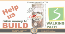 PATH (Play, Adventure, Thoughtfulness, Healthy Habit) fundraiser Theme Paine elementary school by Ganna Sheyko / Anna Art Design